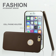 Mobile Phone Brown Ultra Thin Smart Leather Case Back Cover For Apple iPhone 6 4.7