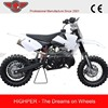 Chinese Good-quality 2 Stroke Mini Dirt Bike For Sale with CE Approval(DB501A)