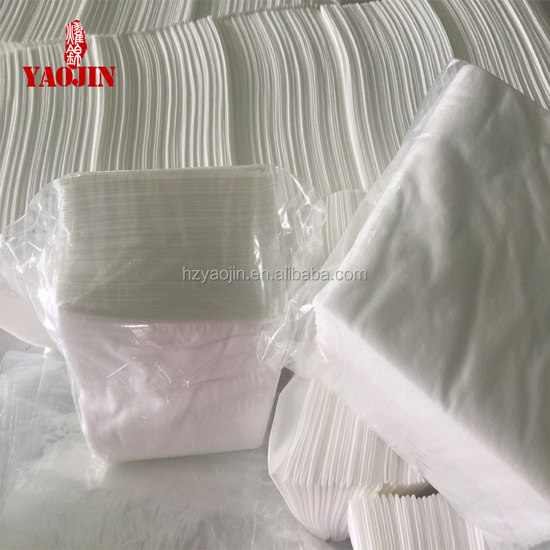 facial towel for washing face/spunlace nonwoven facial mask 25cm