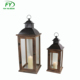 Funeral wholesale hurricane tall wooden candle lantern