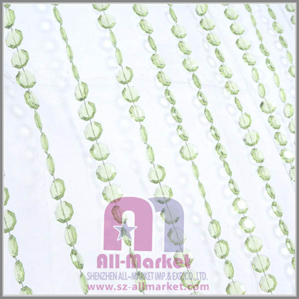 Decorative hanging room divider beads curtain
