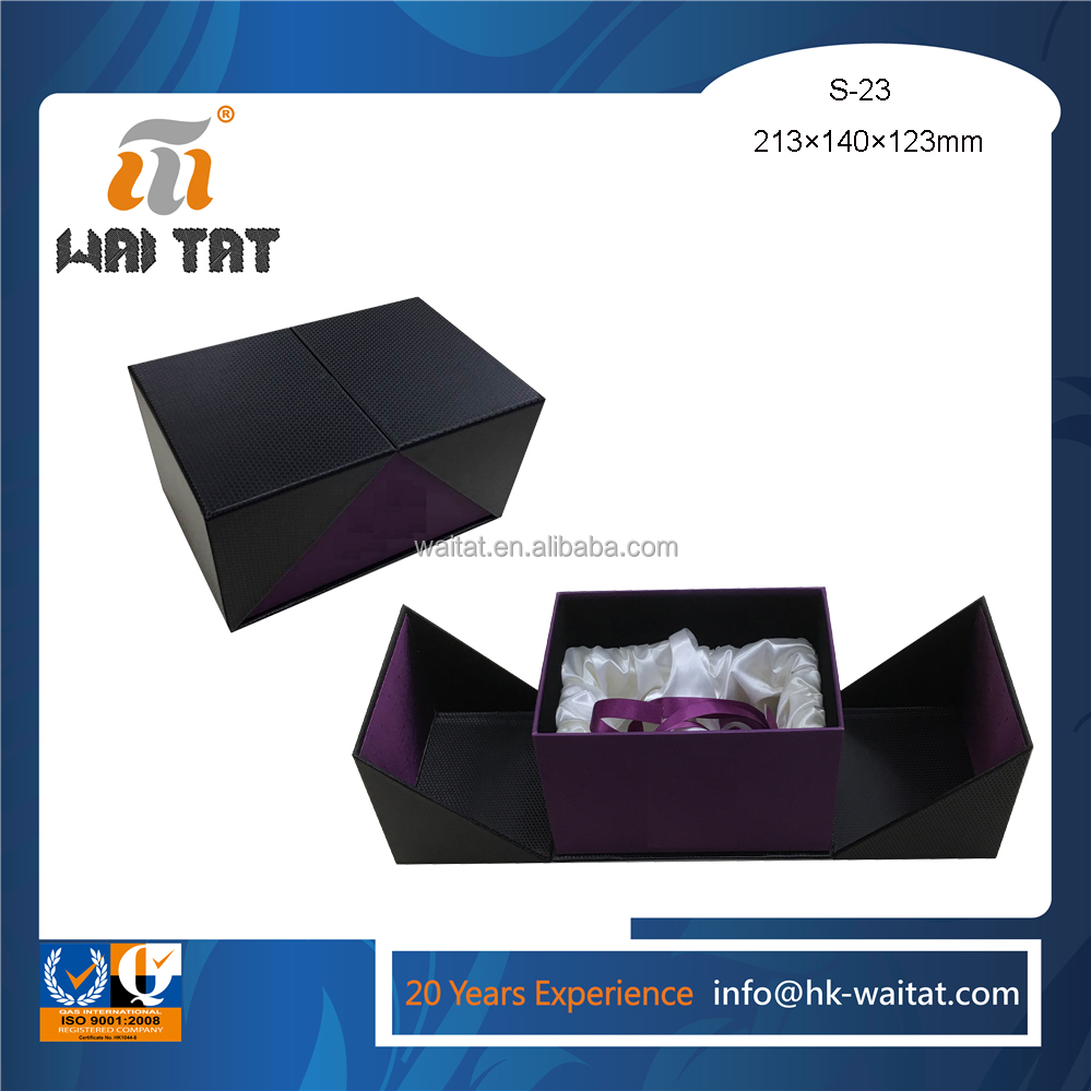 Professional Luxury Gift Box Packing With Ribbon For Men&#39 with best quality and low price