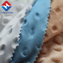 Good quality super soft golf fleece fabric gillter for toys Professional Manufacturer