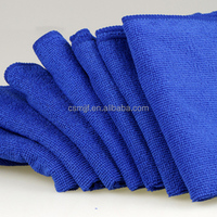 30*70cm Blue Big Absorbent Soft Terry Microfiber Car Care Cleaning Cloth