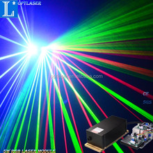 5W RGB Color Stage Lights Moving Heads Beam Laser Show Projector With Sound