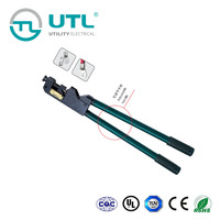 UTL Hight Quality Products 980mm Compressing Tool Cable , Terminals Crimping Plier