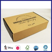 Small Eco Kraft Paper Corrugated Soap Packaging Paper Box
