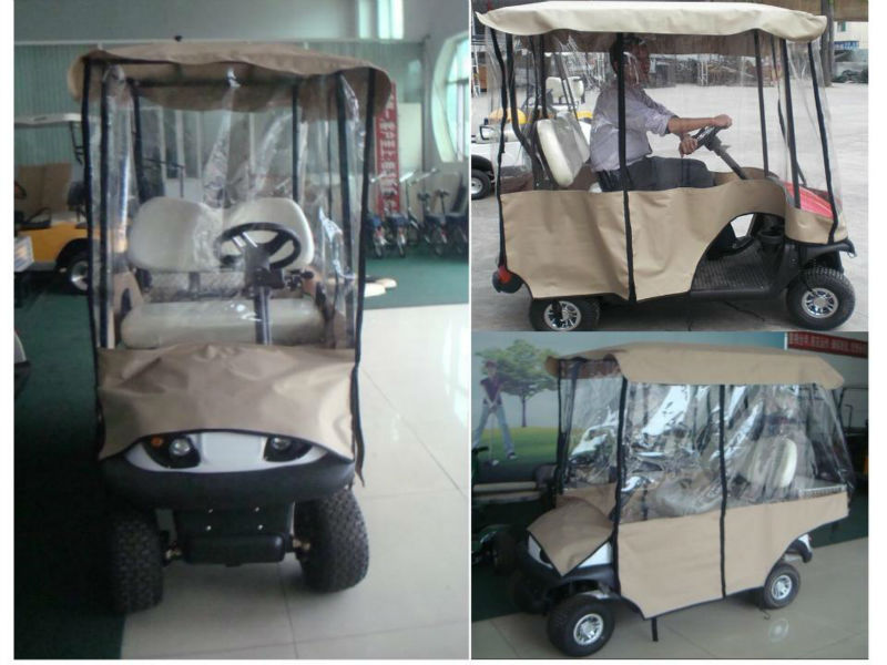 New electric golf car for sale (AX-D2-G) | Best seller New electric golf car with golf bag holder