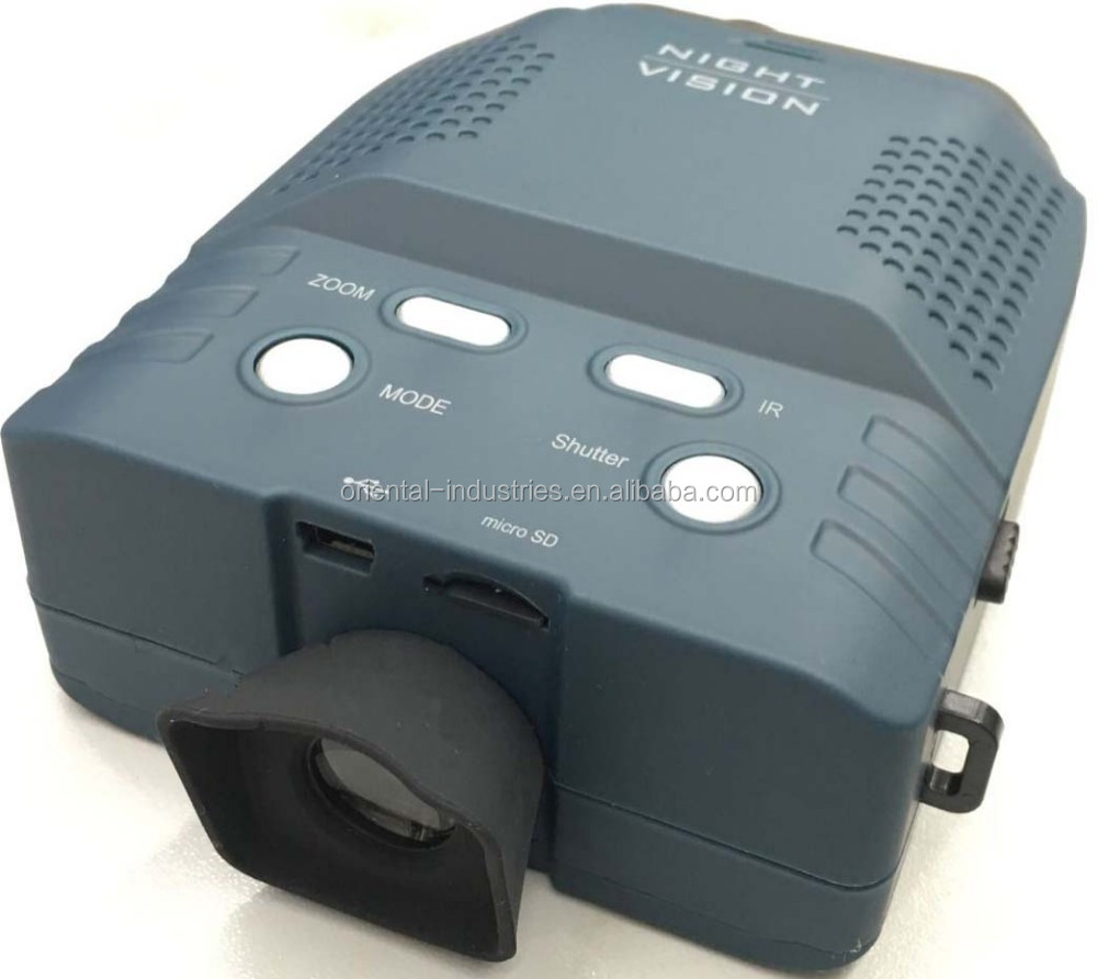Infrared Digital Night Vision Monocular scope, New Product Free Video Night Vision with micro sd card,Plastic Housing