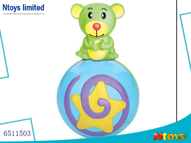 6511503 BABY MUSICAL BALL BEAR