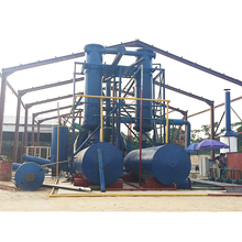 wast tyre oil pyrolysis machine, high reputation waste water treatment for plastic recycling
