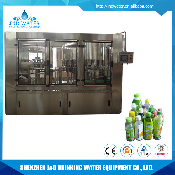 High Speed Fruit Juice Hot Filling Production Machine