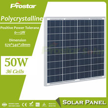 Prostar high efficiency 50 watt solar panel price in pakistan for photovoltaic systems