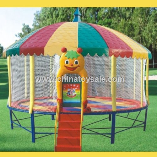China Manufacturer Gym Equipment jumping network Crane Trampoline round circle