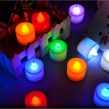 NEW FLAMELESS FLICKERING LED TEA LIGHT BATTERY OPERATED led candle lights romantic for wedding birthday