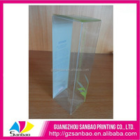 High end soft crease oil packing plastic box