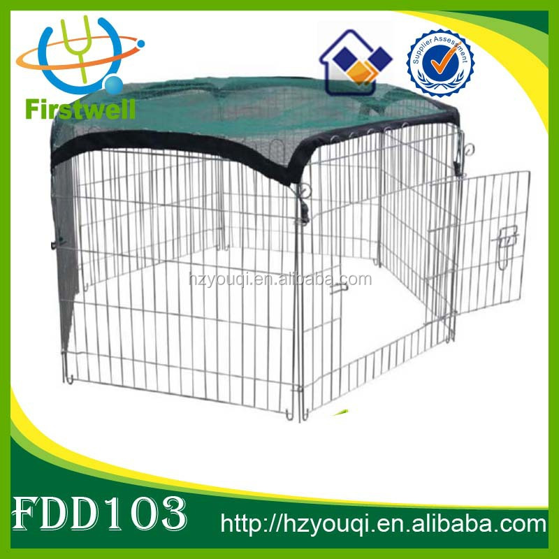 China supplier Wire Fence Pet Dog Exercise Yard Metal Playpen
