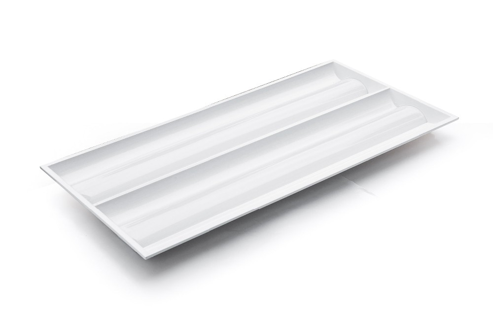UL DLC CUL Approved LED 2x4 Troffer Fixture Dimming 5 Year Warranty