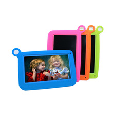 Children Tablet PC with Free Silicon Bracket Case Android 4.4 OS Quad Core 4GB HD Screen 7 inch Kids Learning Game Tablet