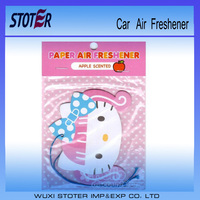 Car Accessories 2017 Aroma Air Freshener Custom Fragrance Car Air Fresher Paper