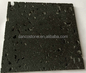 China Natural Volcanic Stone Lava Stone Black Basalt Stone
