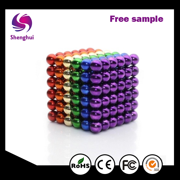 Wholesale Beneficial Thinking Sphere Magnets Magnetic Bucky Ball Magnetic Desk Toys