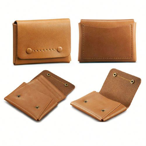 leather card holder ATM card sleeve leather card pouch thin style