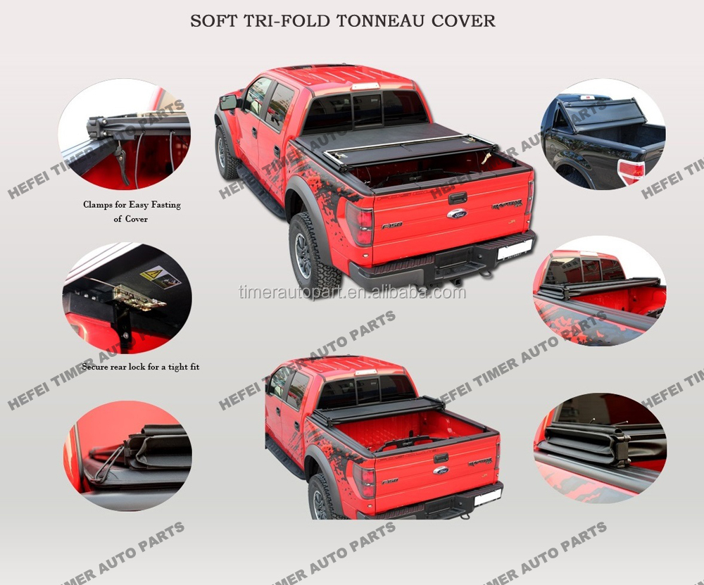 3years warranty 4x4 fire truck pickup tonneau covers for Explorer Sport Trac 01-05