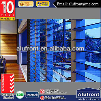 Aluminum Frame Glass Manual Louver Window with Trade Assurance Service