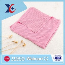 High quality china supplier cotton knitted blanket wholesale