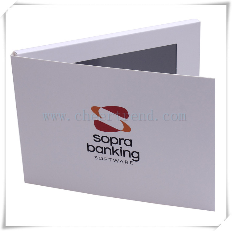 7 inch touch screen video brochure card /invitation card lcd