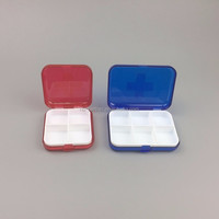 2016 a Variety of Colors Plastic Storage Box Small Kit Medicine Drug Pill Case