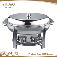 Whosale commercial buffet chafing dish food warmers, cheap price buffet gel fuel , 4L roll top chafing dish for sale