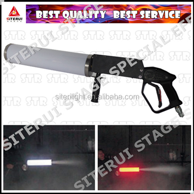 Club/dj/disco smoke equipment LED CO2 gun handheld CO2 gun