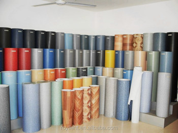 Lowest price PVC vinyl flooring/ PVC floor covering roll