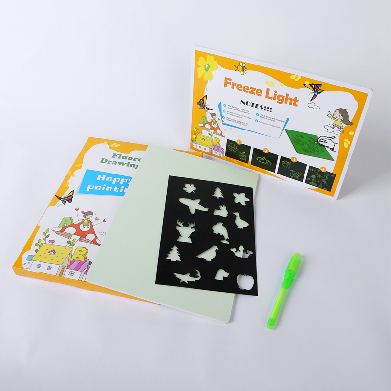 New Product Glow In The Dark Drawing board For Funny