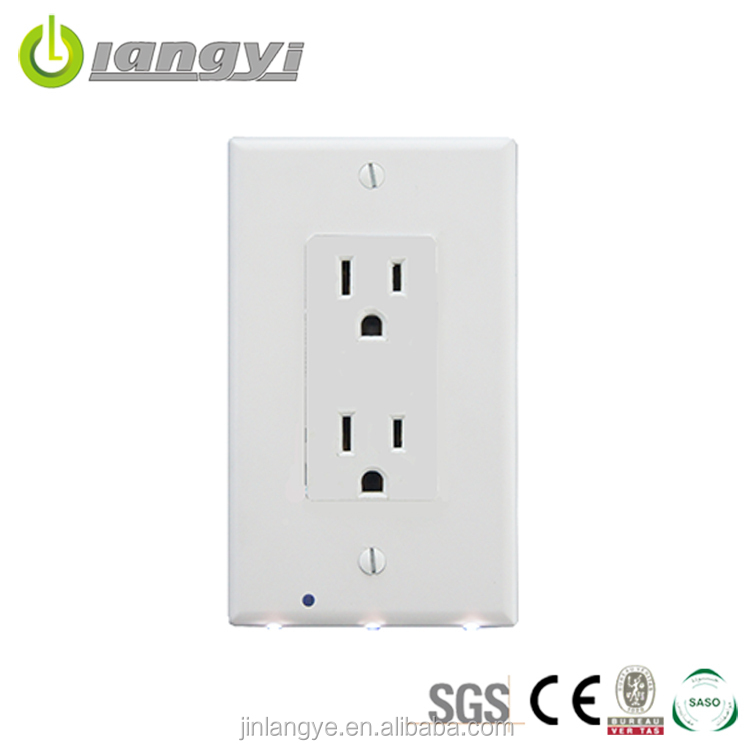 Newest High Quality Low Price American 110V Electrical Plug Socket
