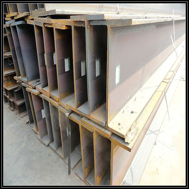 Hot rolled steel box beam