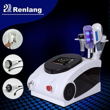 portable lipolysis cream/cryo lipolysis with Cavitation and RF 3 in 1 multifunction slimming machine