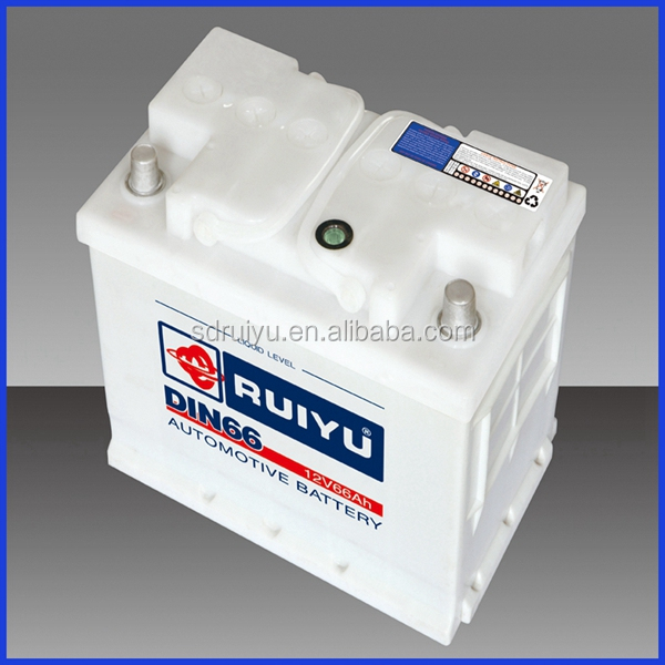DIN72AH Most Professional 12V72AH Lead Acid Dry Battery for Cars/Automotives