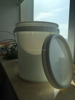 20L plastic water drum/container for packing,with tight cover and handle