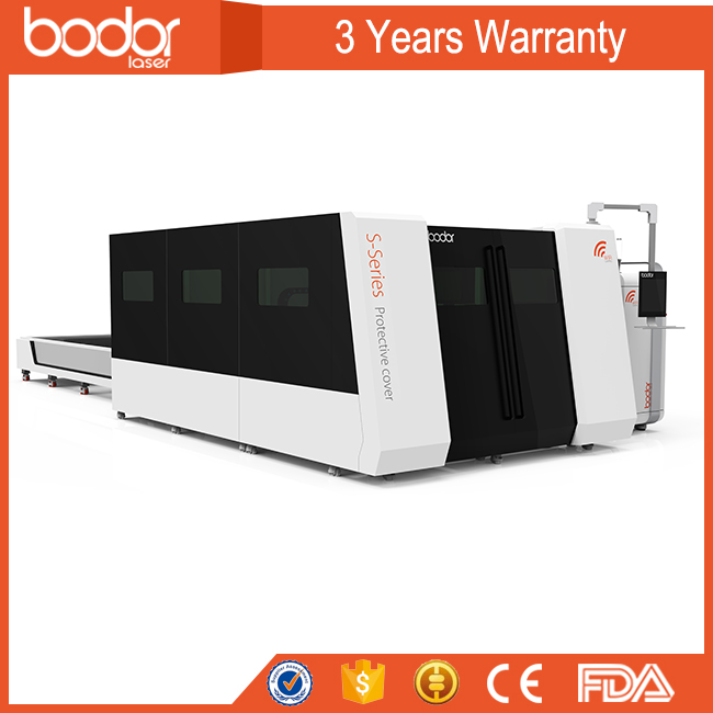 Top sale Bodor fibre laser cutter machine price strong body steel sheet cutting high speed high