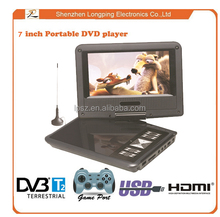 Mini LCD loptop portable DVD player, super thin portable dvd player