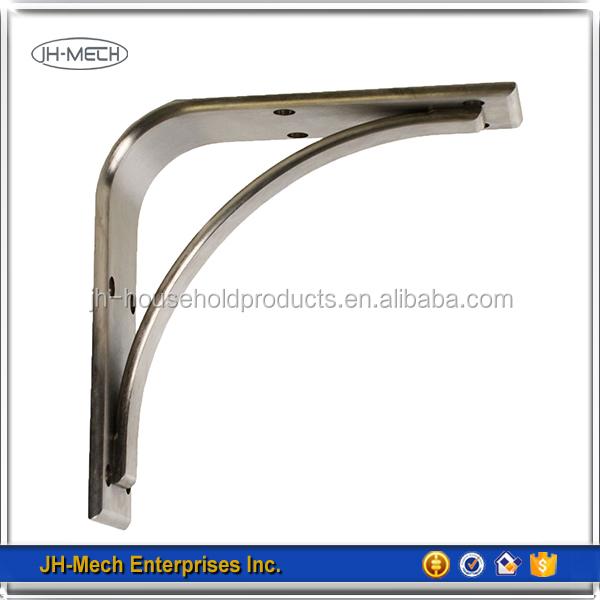 Alibaba popular home metal decorative wall shelf brackets