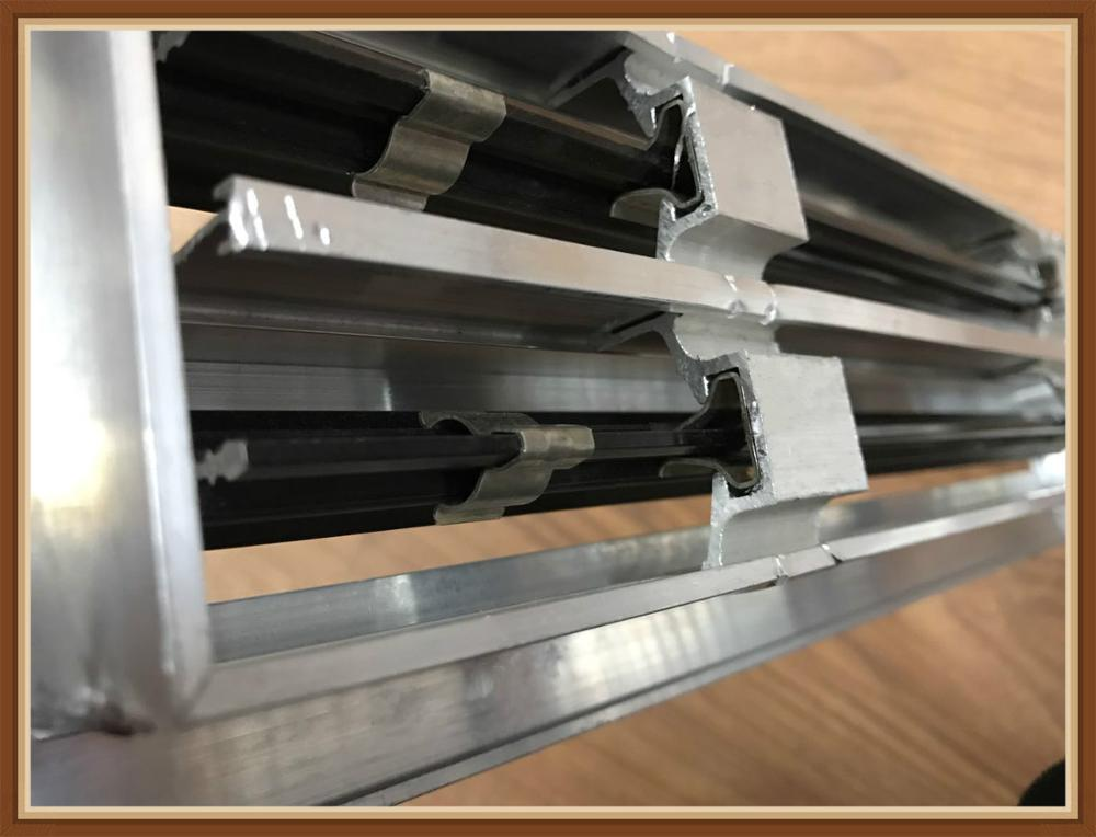 Air Conditioning Aluminum Removable Core Linear Slot Air Diffusers For Buildings