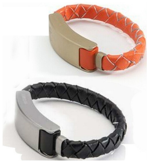 charger cable leather bracelet