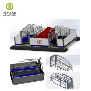 Pig farm equipment Farrowing Crate