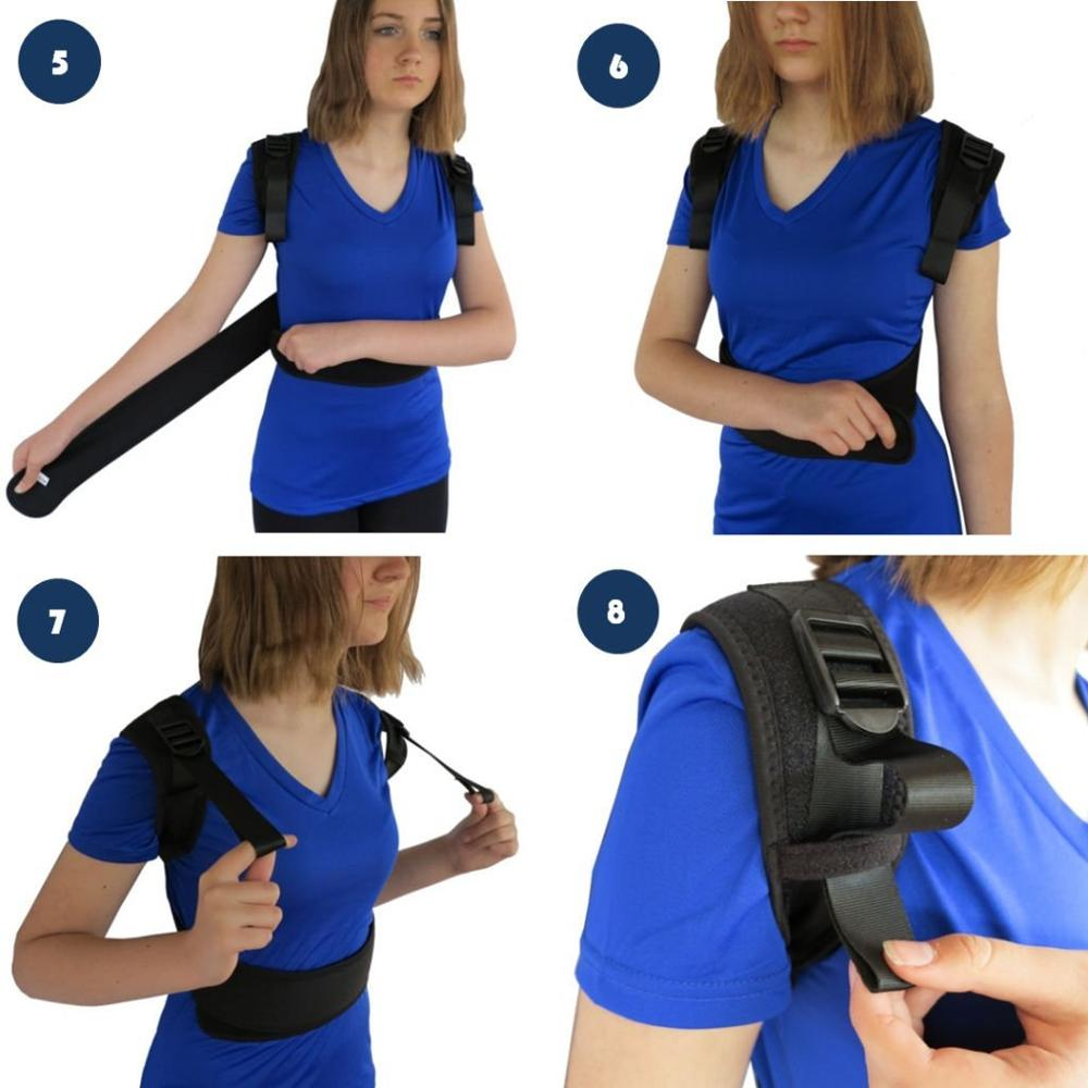 Upper Back Clavicle Support Brace Posture Corrector To Improve Bad Posture