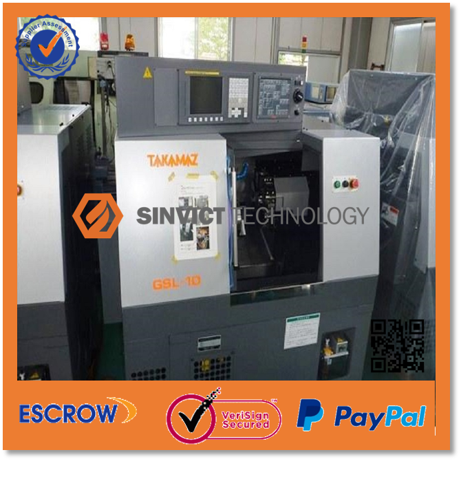 TAKAMAZ GSL-10 CNC LATHE MACHINE / CNC TURNING MACHINE