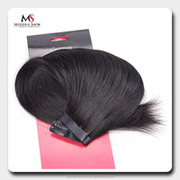 High Quality Wholesale 100% Indian Remy Hair Pu Clip In Weft Hair
